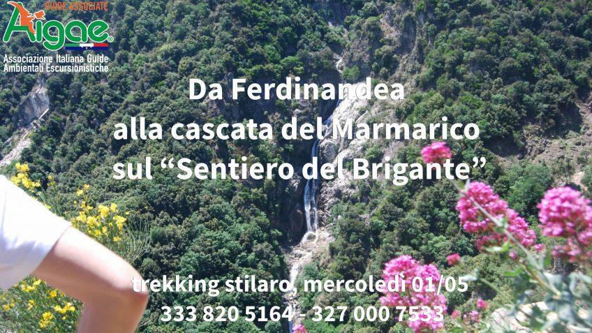 """Da Ferdinandea alla cascata del Marmarico sul """"Sentiero del Brigante"""""""